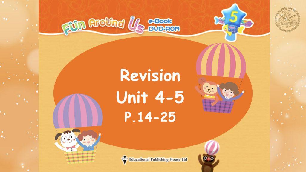 Revision Unit 4-5
