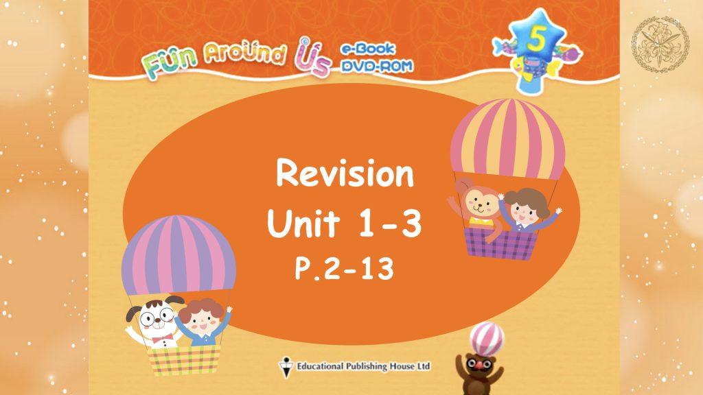 Revision Unit 1-3
