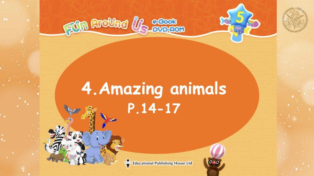 Amazing animals Part 1